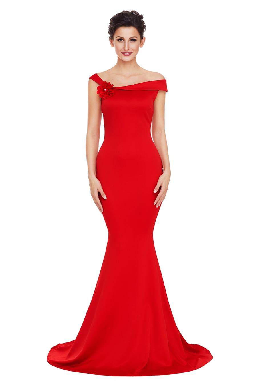длинные красные вечерние платья в картинках общедомовой узел