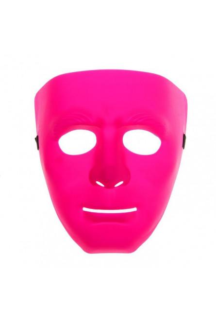 Розовая маска на все лицо