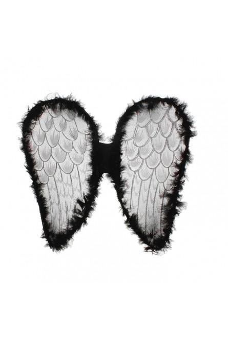 Темные ангельские крылья