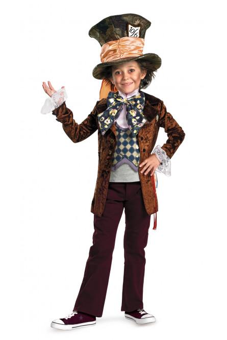 Детский костюм Безумного Шляпника Dlx
