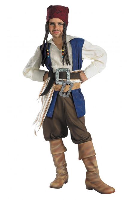 Детский костюм Карибского пирата Джека