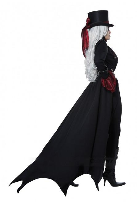 Костюм Вампирши викторианской эпохи