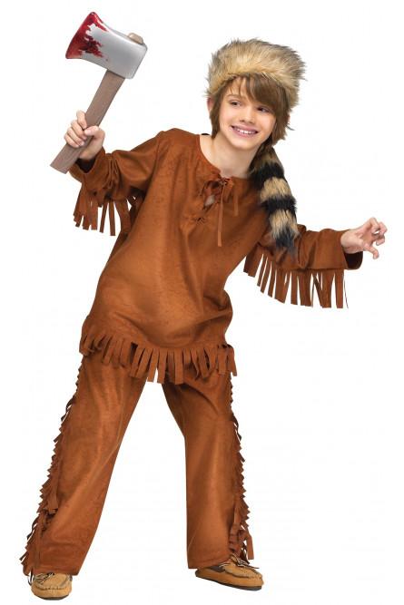 Детский костюм индейца охотника