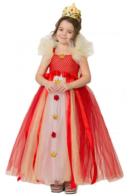 Детский костюм Королевы Сделай сам