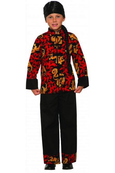 Детский костюм китайского мастера