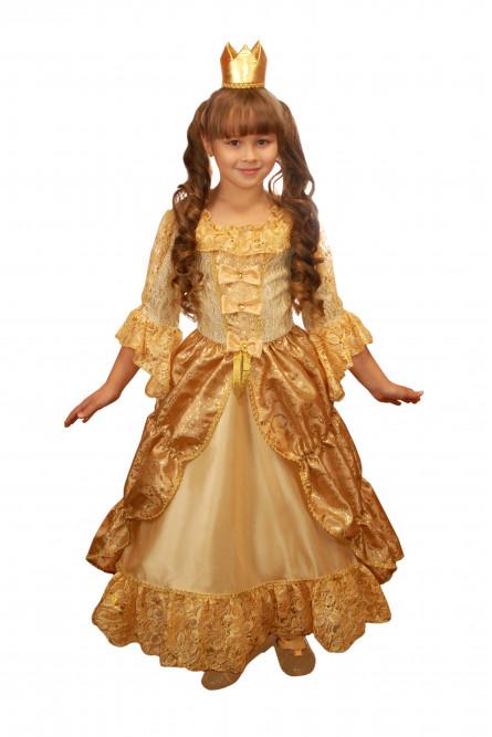 Детский костюм Золушки из сказки