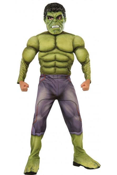 Детский костюм мускулистого Халка