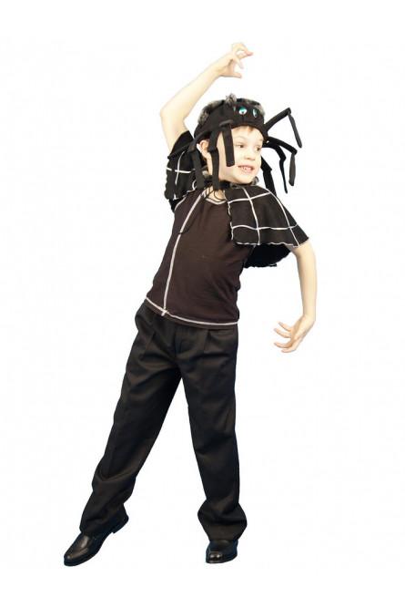 Детский костюм черного Паука