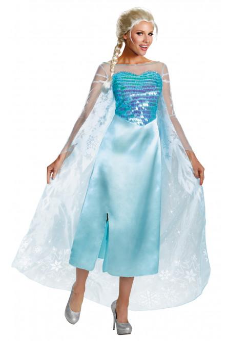 Взрослый костюм Эльзы
