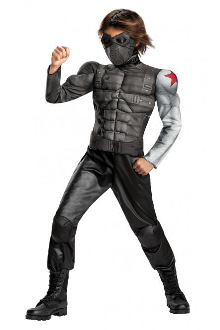 Детский костюм Зимнего солдата Баки