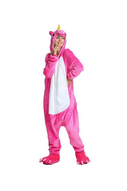 Кигуруми Розовый Единорог