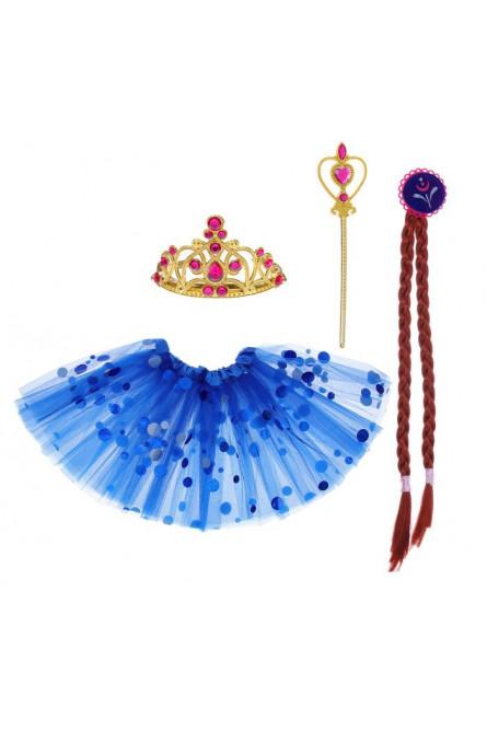 Детский набор синей Принцессы