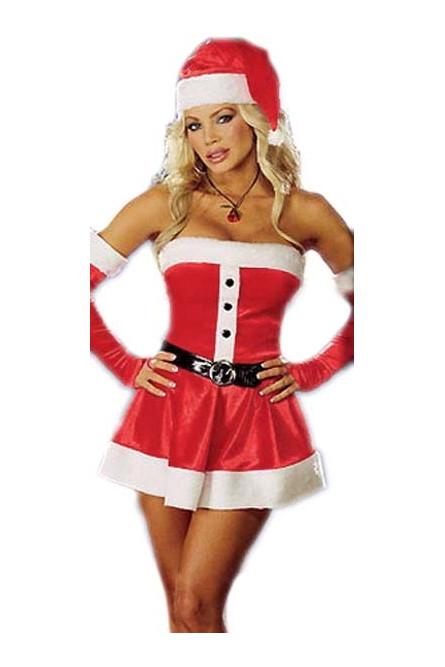 Рождественское платье Санты