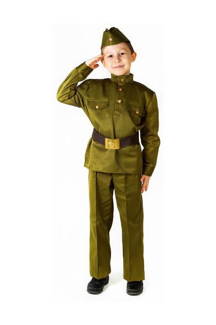 Детский костюм солдата Люкс