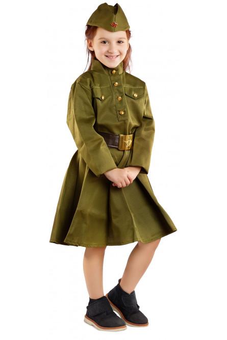 Детский костюм Девочки военной ВОВ