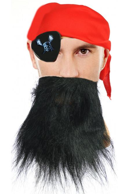 Пиратский набор с бородой