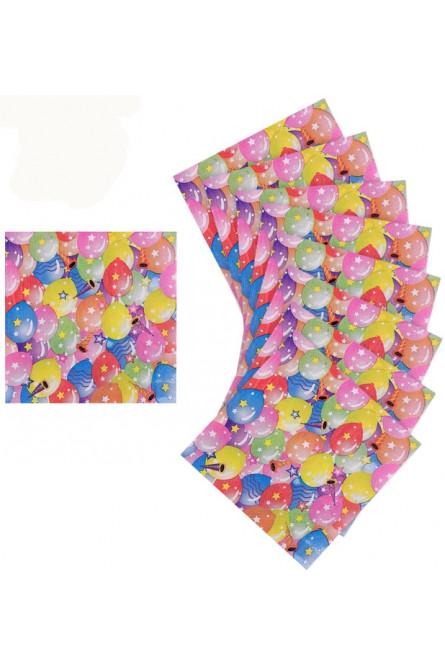Бумажные салфетки Шары 20 шт