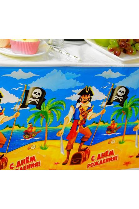 Скатерть Пират С Днем Рождения