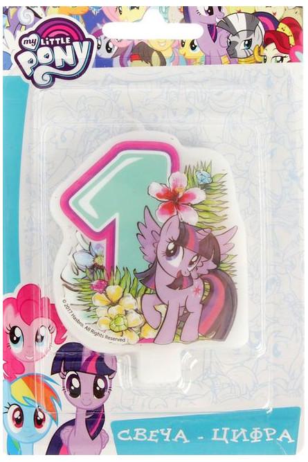 Свеча единичка My little pony