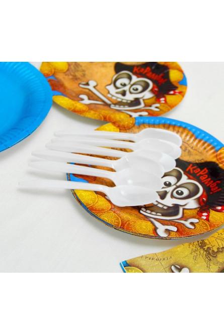 Набор пиратской посуды на 6 персон