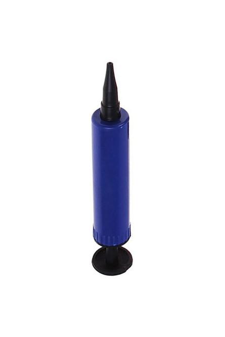 Синий насос для шаров маленький