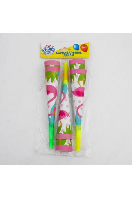 Дудки-гудки Фламинго 6 шт