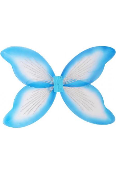 Детские бело-голубые крылья