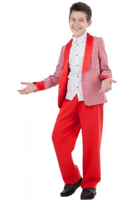 Детский красный костюм Стиляги