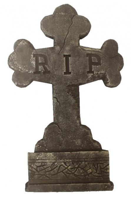 Декоративное надгробие Крест