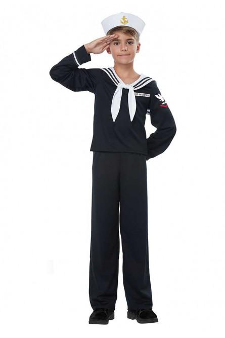 Детский костюм мальчика Моряка