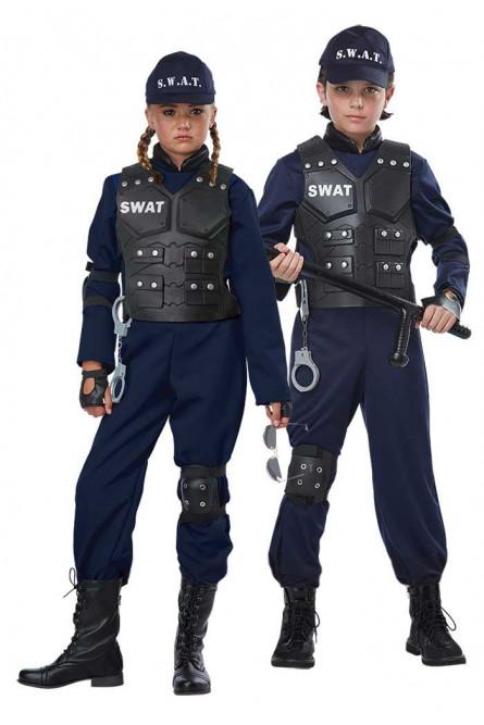 Детский костюм бойца SWAT