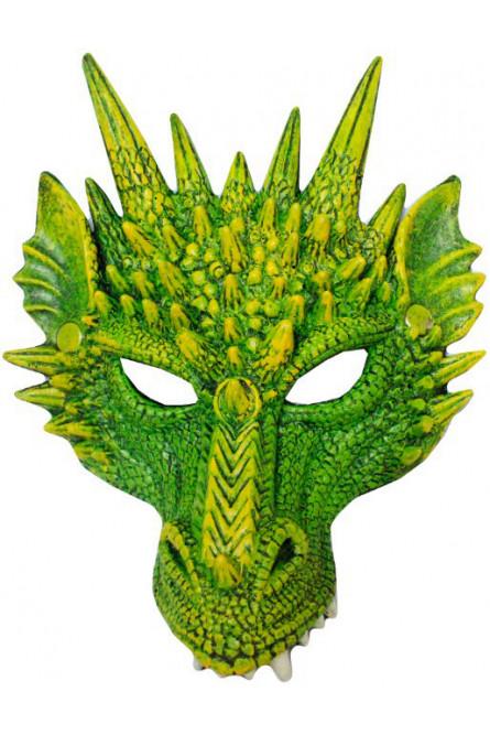 Зеленая маска дракона