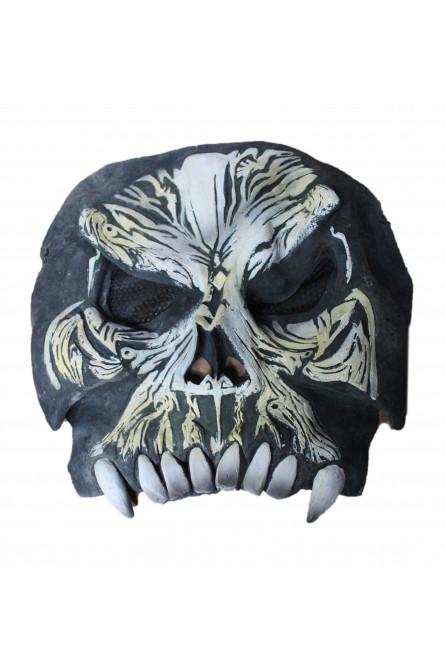 Маска черного черепа