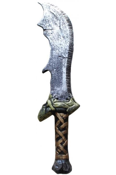 Карнавальный зазубренный меч