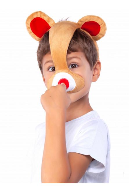 Детская маска медведя