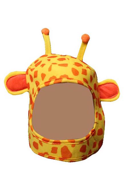 Детская шапка-маска Жираф
