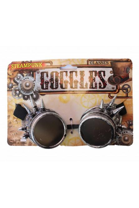Серебряные очки Стимпанк