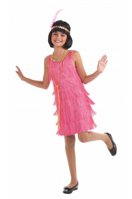 Детский костюм ретро модницы