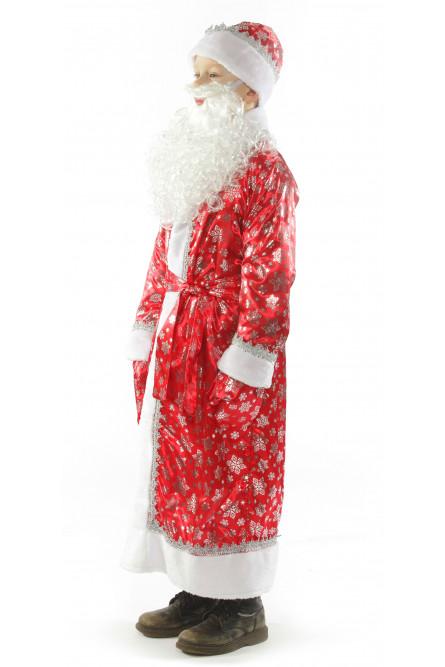 Костюм Дед Мороза красный