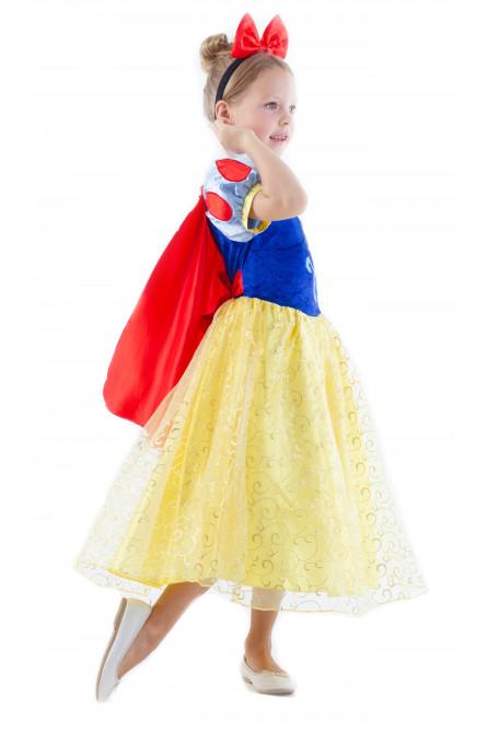 Детское платье принцессы Белоснежки