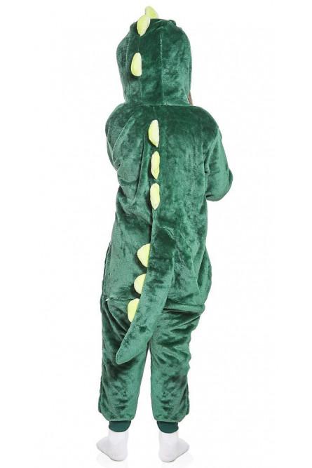 Детский кигуруми Зеленый Дракончик