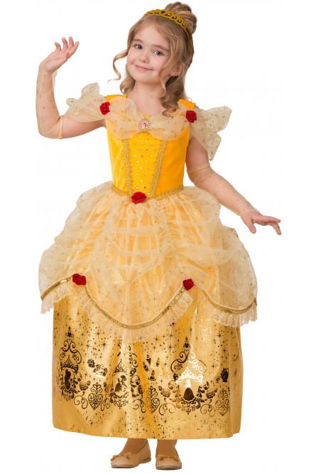 Детский костюм очаровательной Принцессы Белль