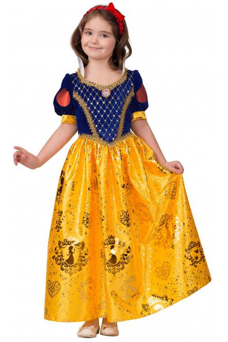 Детский костюм сказочной Белоснежки