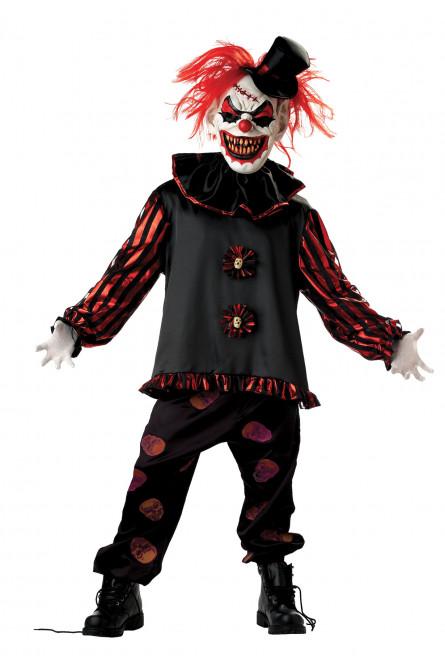 Детский костюм Жуткого Клоуна-убийцы