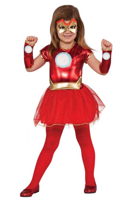 Детский костюм девочки Железного человека