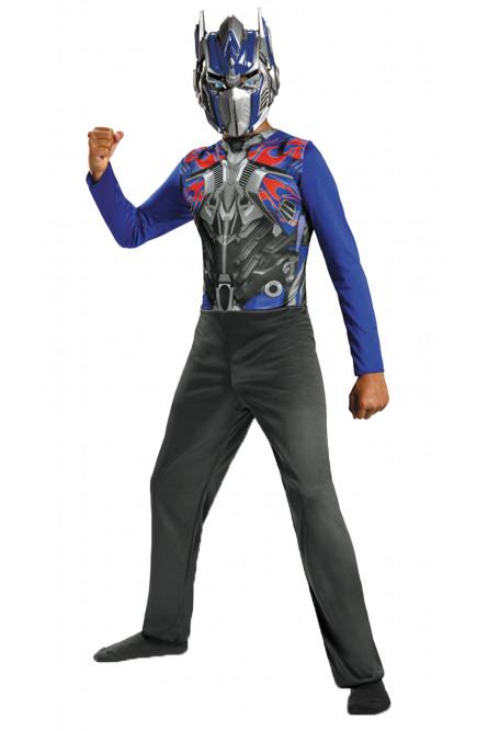 Детский костюм синего Трансформера Оптимуса Прайма