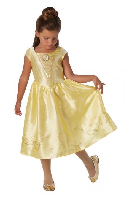 Детское платье милой принцессы Бэлль