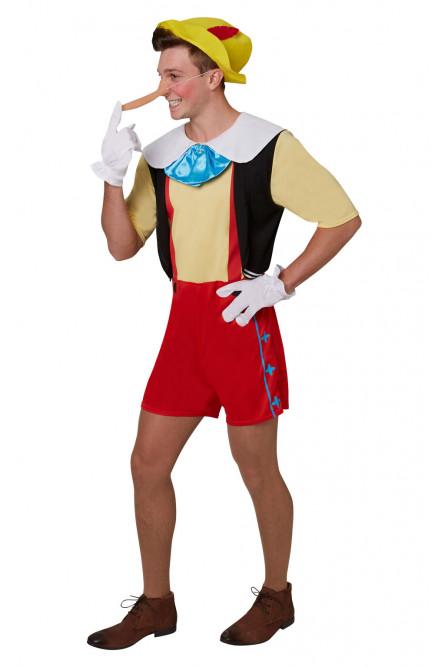 Взрослый костюм Пиноккио