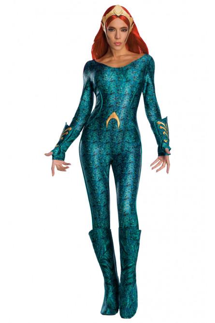 Взрослый костюм Меры из Аквамена