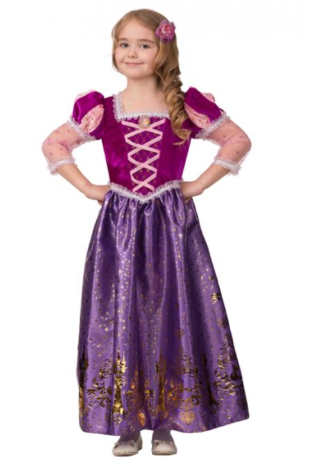 Костюм Принцессы Рапунцель для девочек